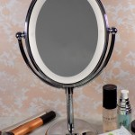 Conair Lighted Mirror - with makeup