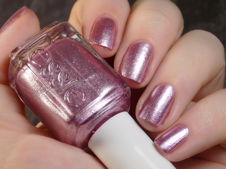 Essie Sil Vous Plait Pink Foil Polish Swatches And Review