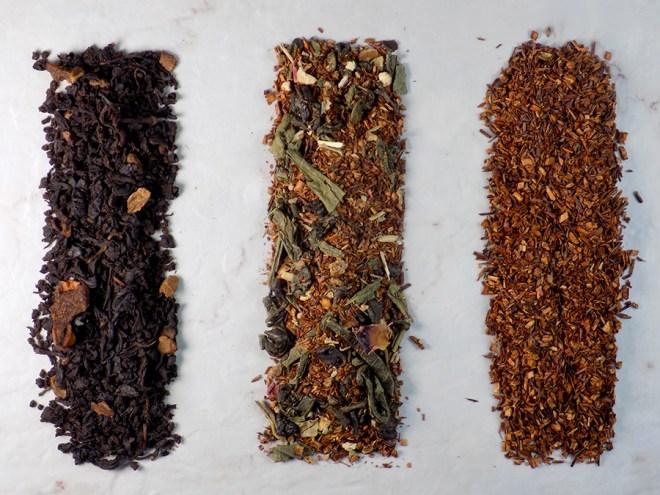 Pretty Tea Mystery Box Review - Siberian Hot Candy - Energitea - Rooiibos Bourbon Loose Teas