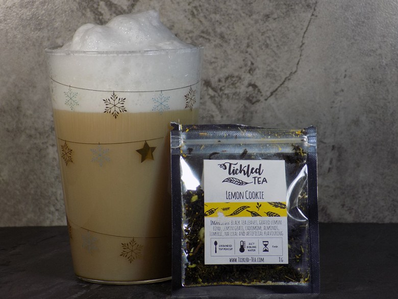 Ticked Tea Lemon Cookie Latte