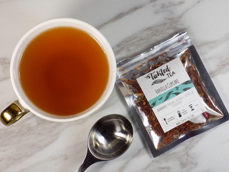 Tickled Tea Vanilla Cupcake Tea Review - Brewed Tea