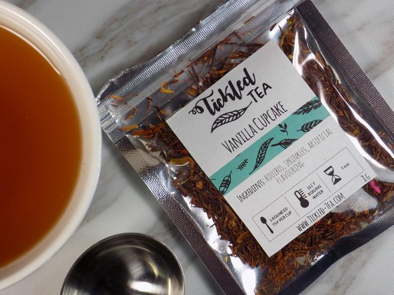 Tickled Tea Vanilla Cupcake Tea Sample Review