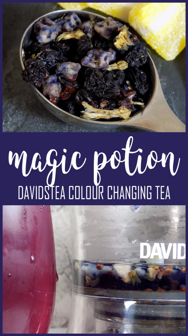 Davidstea Magic Potion - Davids Tea Colour Changing Tea - 2017 Teas