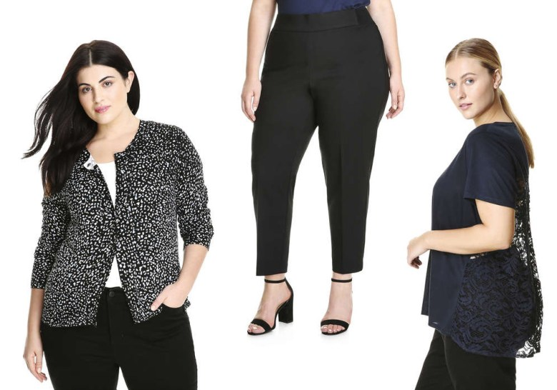 Joe Fresh Extended Sizes and Plus Sizes - 2017 Fall Release Collection