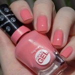 Sally Hansen Miracle Gel Rosey Riviter (180) Swatches & Review