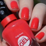Sally Hansen Miracle Gel World Wide Red (409) Swatches and Review