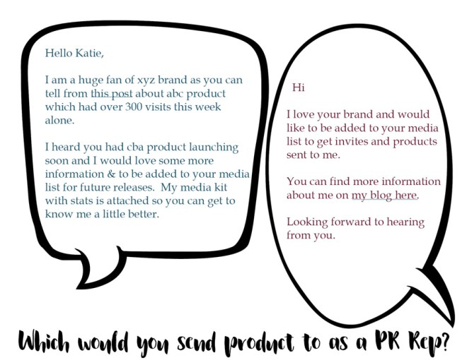 PR tips - contacting pr better blogging