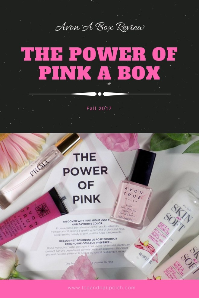 The Power of Pink Avon A Box Review and Details
