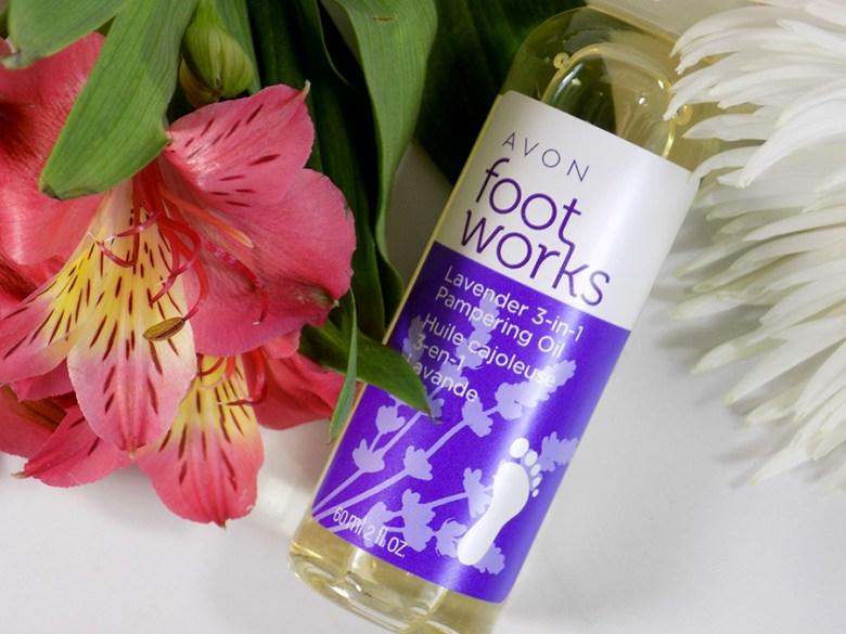 Avon A Box Fresh and Clean Fall 2017 - Avon Footworks Lavender Oil