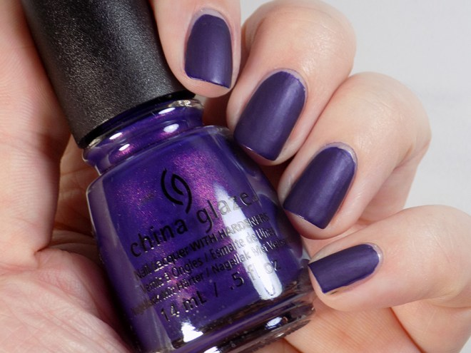 China Glaze Crown for Whatever Halloween Happily Never After Swatch