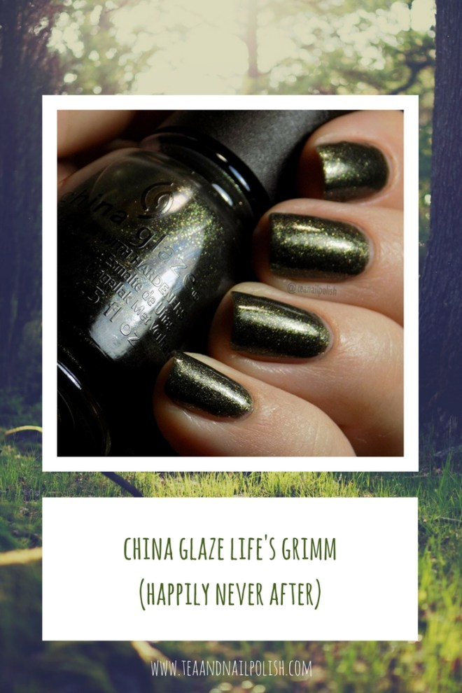 China Glaze Life's Grimm Swatch - Happily Never After Collection