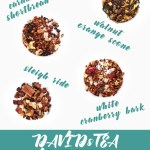 DAVIDsTEA Winter 2017 Teas - Whats New David's Tea November 2017