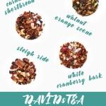 DAVIDsTEA Winter 2017 Teas - Whats New David's Tea November 2017