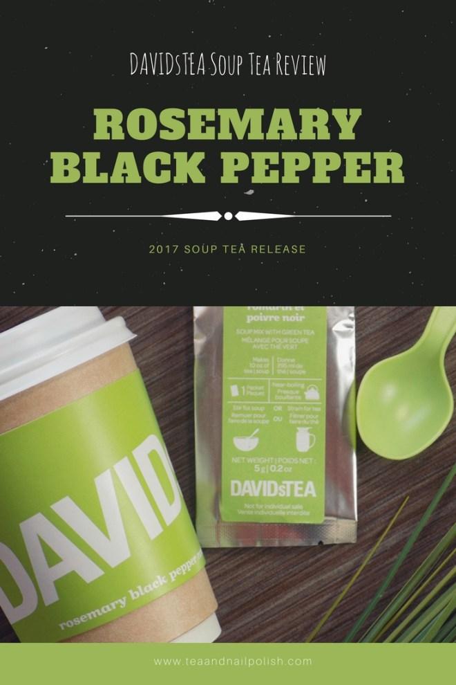 Davidstea Rosemary Black Pepper Soup Teas