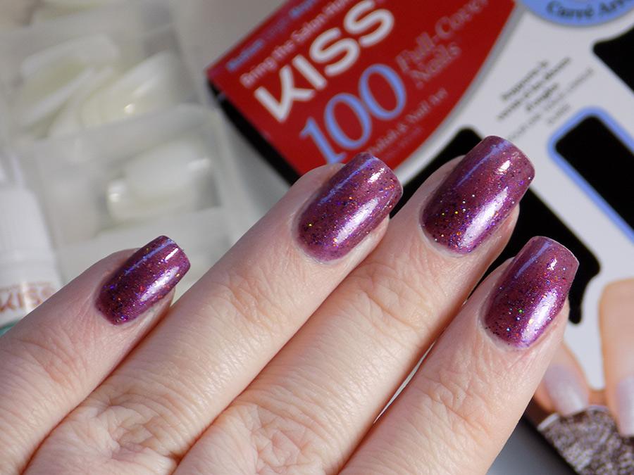 Kiss Full Cover Active Square Nails Review Tea Amp Nail Polish