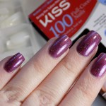 Kiss Full Cover Nails Review using My Indie Polish Candi