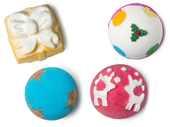 LUSH 12 Days of Christmas 2017 - Bath Bombs
