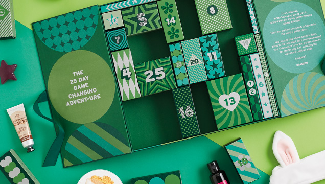 The Body Shop Advent Calendar: The Body Shop 2017 Beauty Advent Calendar - 25 Days of Beauty Standard Calendar
