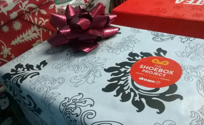 The Shoebox Project Holiday Giving Canada 2017 with the CBB