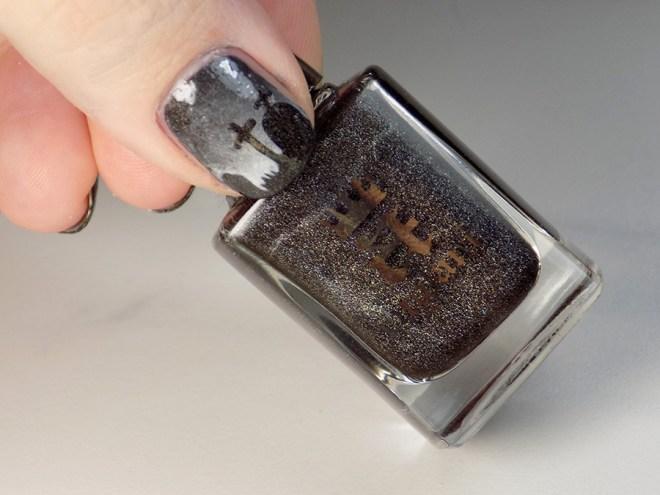 Whats Up Graveyard Nail Stencils Nail Art - Nail Polish Canada - Reverse Application