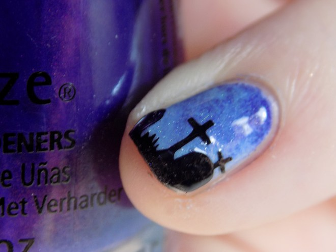 Whats Up Graveyard Nail Stencils Nail Art - Nail Polish Canada - Vinyl Application
