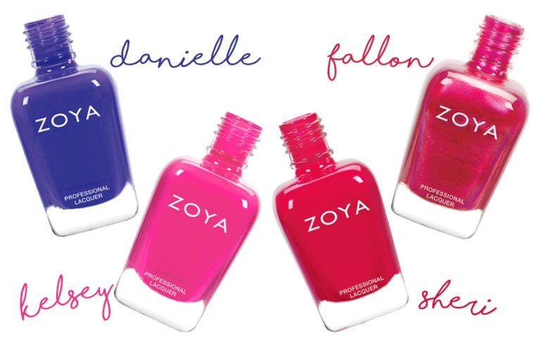 Zoya Party Girls - Danielle - Kelsey - Sheri - Fallon