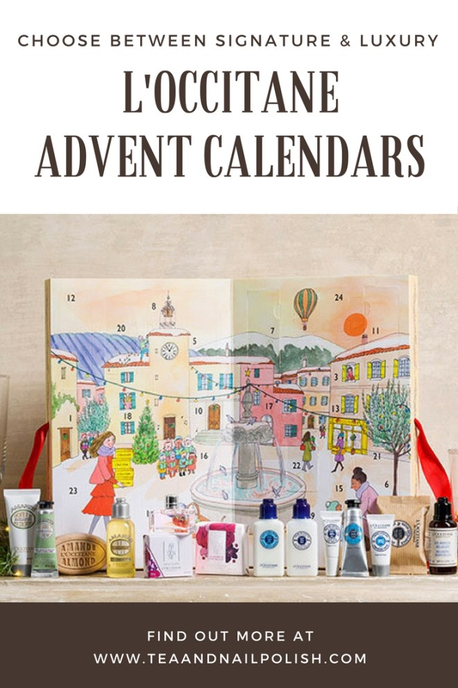 l'occitane beauty advent calendars 2017 signature and luxury options
