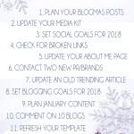 12 Other Days of Blogmas 2017 - Blogging Goals