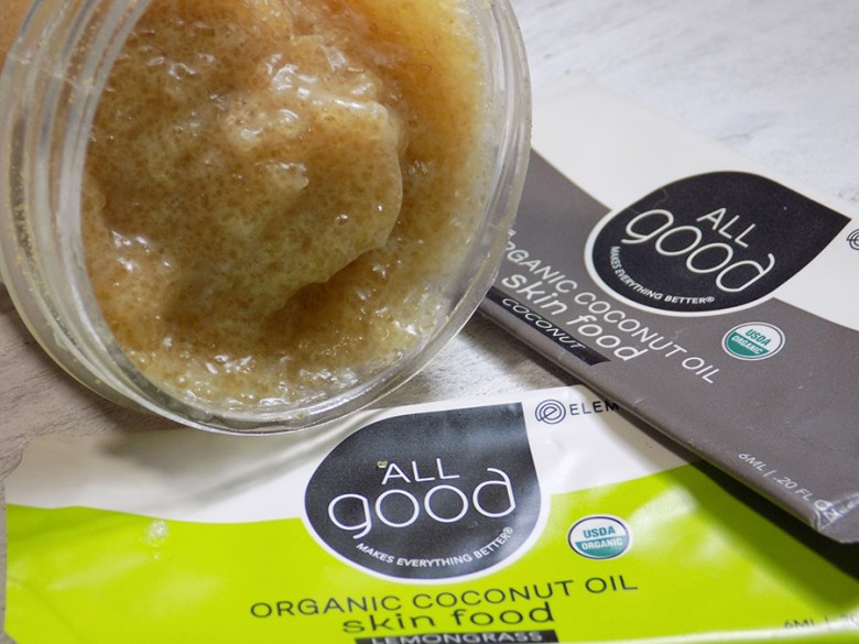 All Good Coconut Oil Brown Sugar Lip Scrub
