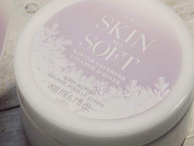 Avon Skin So Soft Winter Lavender Collection - Body Butter Review