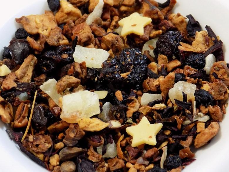 DAVIDsTEA White Cranberry Bark Tea Review - Loose Tea