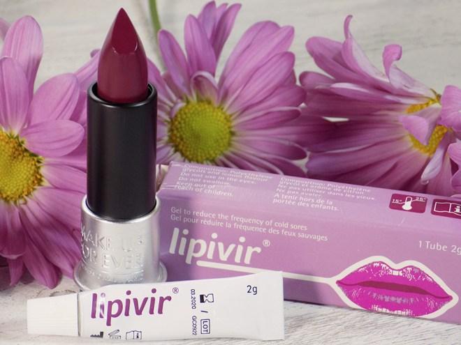 Lipivir Cold Sore Cream review MUFE Lippy
