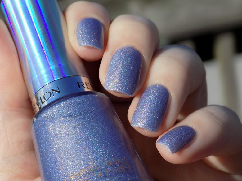 Revlon Unicornicopia HoloChrome Polishes Swatch in Sunlight