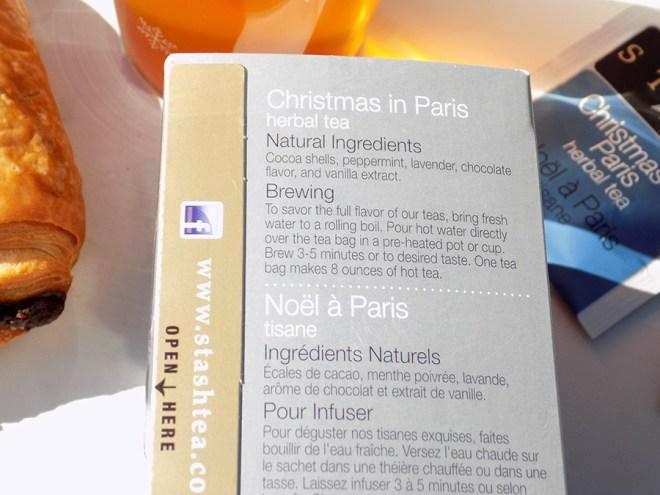 Stash Tea Christmas In Paris - Ingredients