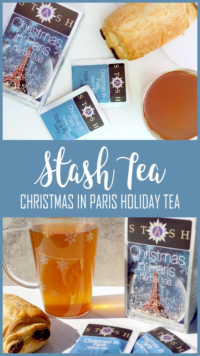 Stash Tea Christmas In Paris - Tea Reviews - Holiday Teas 2017