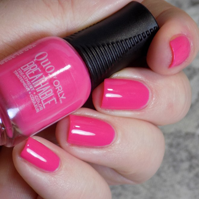 Quo by Orly Breathable Pep In Your Step - Day 2