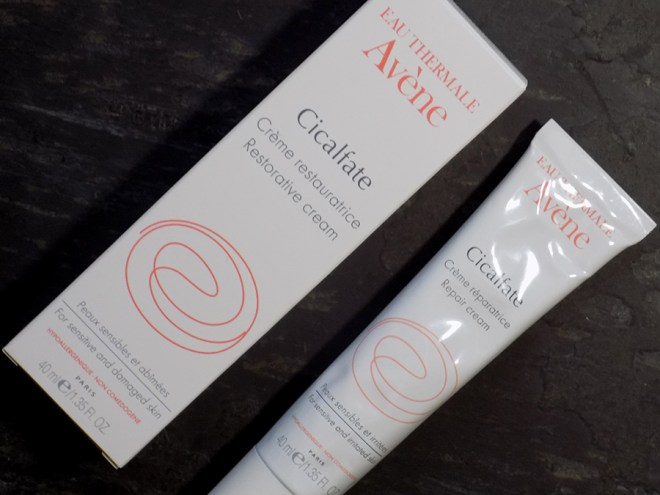 Cold and Flu Skincare Saviours - Avene Cicalfate Restorative Cream Review