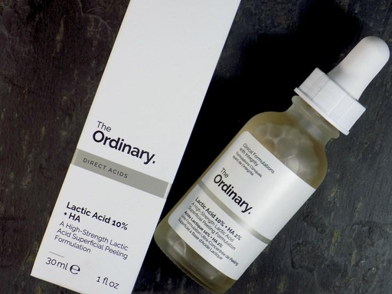 Deciem The Ordinary Lactic Acid 10% HA Review