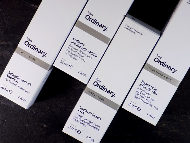Deciem The Ordinary Skincare Review - Lactic Acid - Salicylic Acid - Caffeine - Hyaluronic Acid