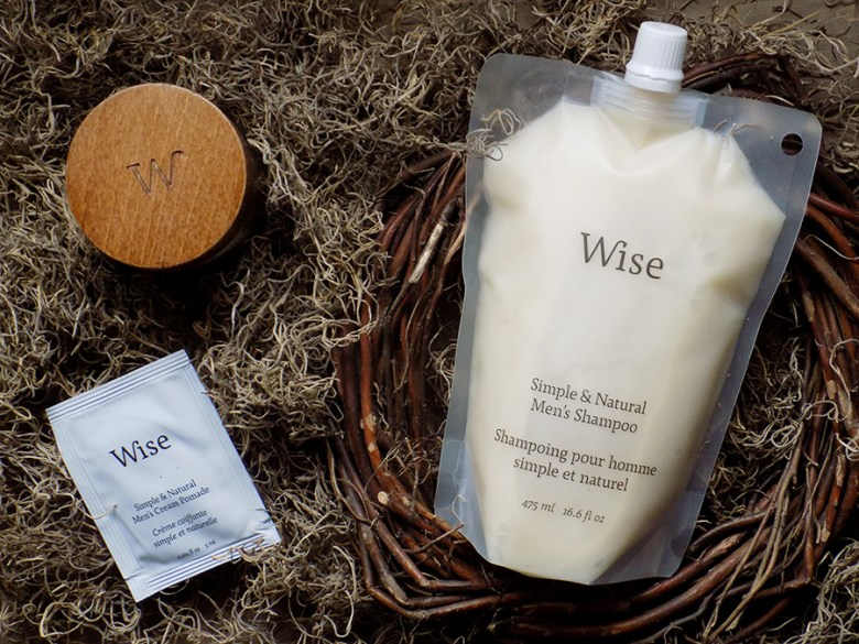 Wise Men's Hair Care Review - Shampoo, Pomade, Clay