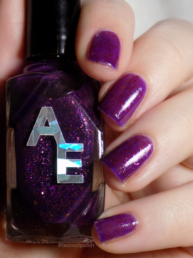 Alter Ego Poised Heroine - Indie Expo Canada VIP Exclusive Polish Swatch and Reviews
