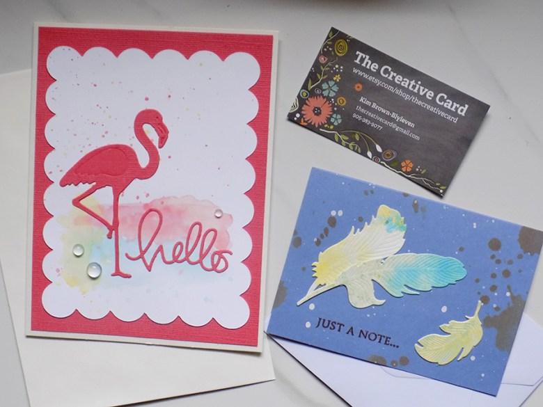 The Creative Card at Craftadian