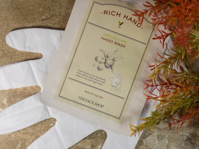 TheFaceShop Rich Hand Mask Review