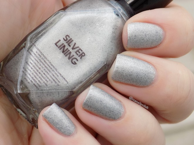 Alter Ego Fan Faves - Silver Lining - Matte Swatch