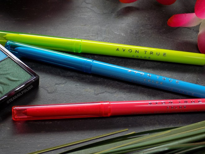 Avon True Color Tropical Breeze Eye and Lip Liners
