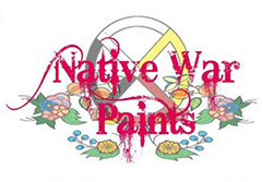 Native War Paints Logo