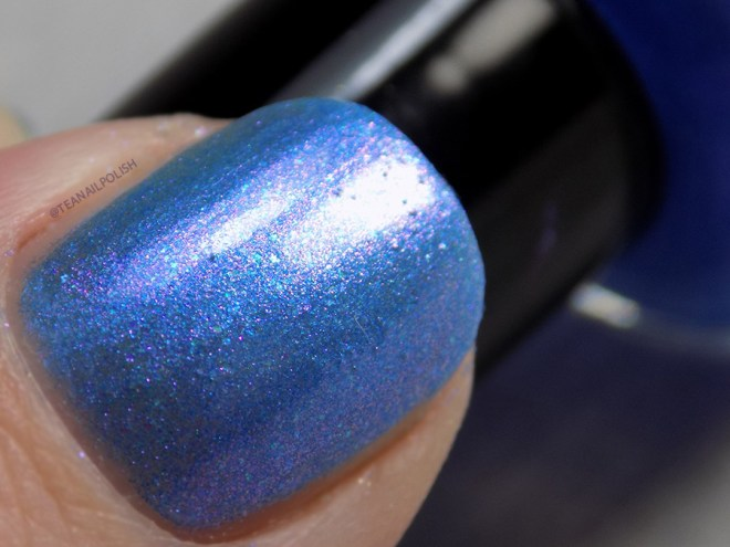 Paint It Pretty Polish Blue Me Away at IEC - IEC Exclusive Swatch