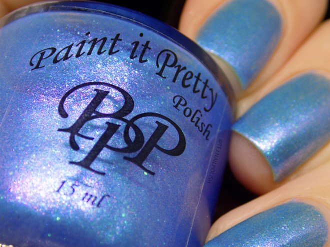 Paint It Pretty Polish Blue Me Away at IEC - IEC Exclusive Swatches