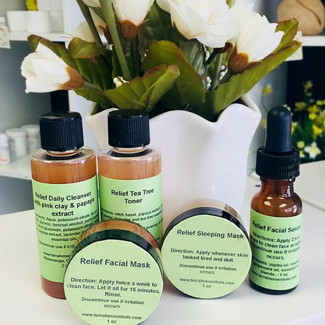Terrah Essentials Skincare Indie Expo Canada