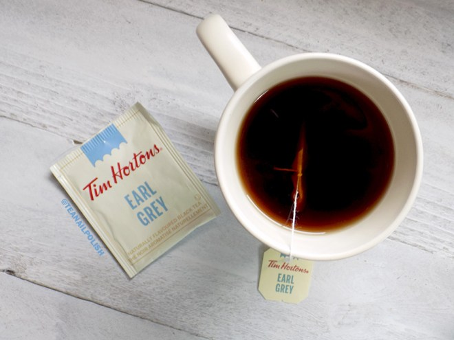 Tim Hortons Grocery Store Teas Review - Tim Hortons Earl Grey Tea Review